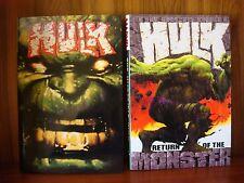 The Incredible Hulk / Return of the Monster - Vol. 1&2 - Marvel HC 1st Printing