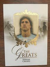 2016 Unique Futera Greats Soccer Card - Argentina CRESPO Mint
