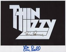 Thin Lizzy Eric Bell Brian Downey Signed 8 x 10 Photo Genuine In Person + COA