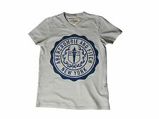 Genuine Abercrombie and Fitch A&F Grey Hoffman Mountain Mens T-Shirt Small