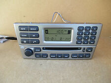 Jaguar X Type X-Type Radio Stereo CD Player 1X43 Genuine 9X43-18B876-CC SILVER