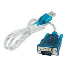 New 9Pin Male Adapter Cable VGA PC Mobile Phone USB 2.0 to RS232 Serial DB9