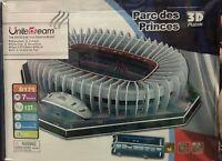 Parc Des Princes Stadium PSG Paris Estadio Puzzle 3D experience fubol fans