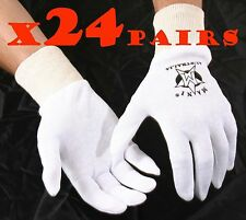 BOXING PUNCH GLOVES COTTON INNERS, Liners, 24 Pairs Cricket inner, Cotton Insert