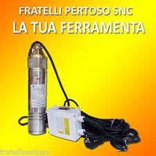 """POMPA ELETTROPOMPA 4"""" SQM100 HP 1  SOMMERSA VENUS PERIFERICA PER POZZO 4"""" QUADRO"""