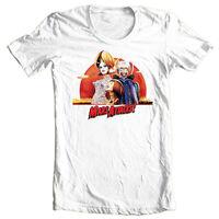 Mars Attacks T-shirt retro 1990's sci-fi movie 100% cotton graphic printed tee