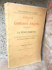 Oeuvre des conteurs anglais: Devereux 1921, litt. érotique: La vénus indienne