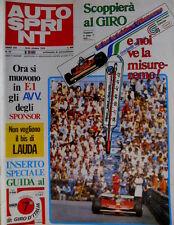 Autosprint 42 1979 La Brabham BT49 Cosworth. Rally di Biella. Lancia [SC.52]