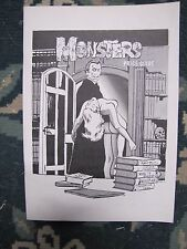 MONSTERS PRICE GUIDE by Larry Kenton 1974  brand new