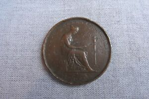 London Institution -- Bronze Pass Ticket / Medal -- C19th British / Science  671