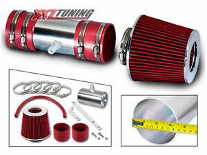 RED Short Ram Air Intake Induction Kit + Filter For 09-11 Traverse 3.6L V6