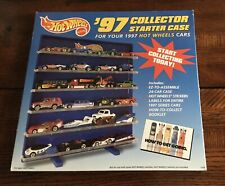 2 Hot Wheels '97 Collector  Storage Display Shelf Holds  24 Car Each