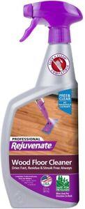 Rejuvenate Professional Hardwood Floor Cleaner For Wooden Floors - 32oz