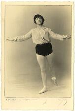 Photo Blanc et Demilly La Danseuse Jeannine Gerkens Vers 1930