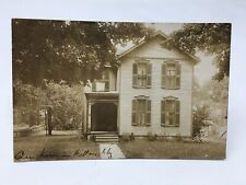 Postcard- 1915 RPPC of house in Willoughby, Ohio.  OH