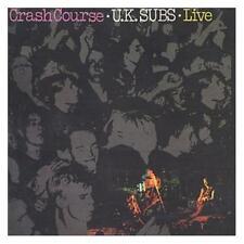 U.K. Subs Crash Course Live CD+Bonus Tracks NEW SEALED Punk Warhead/C.I.D./Kicks