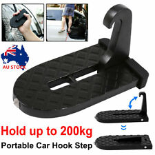 Folding Car Door Hook Step Foot Pedal Ladder  Latch Hook For Jeep SUV Truck Roof