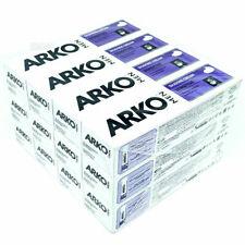 ARKO MEN SHAVING CREAM MOISTURISING REVITALISING SENSITIVE SKINS x 12 PACK 100ML
