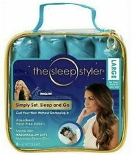 "Sleep Styler Long Hair 8 Large 6"" Rollers Curlers As Seen Shark Tank New PK"