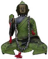 Klassic Mala Gebetskette Buddhismus Nepal 108 Perlen Ohm Knochenperlen