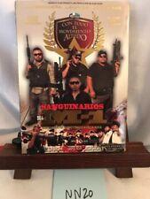 SANGUINARIOS DEL M1 CON CUERNO DE CHIVO Y BAZUCA EN LA NUCA  DVD NEW 2011! NN20