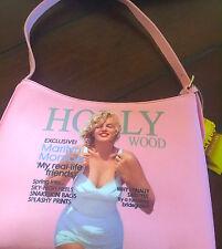 ❤️Marilyn Monroe Swimsuit Limited Edition Canvas  Faux Leather Handbag Satchel