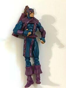 "Hawkeye Action Figure Hasbro 2009 MARVEL UNIVERSE CLASSICS SERIES 4.25"""