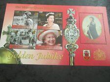 GIBRALTAR 2002 Golden Jubilee mini sheet SG 1001 mnh