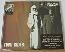 CLAWFINGER - TWO SIDES & BIGGEST & THE BEST - 2 x cd singles Pitchshifter