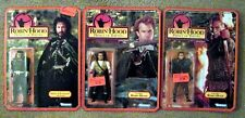 (3) Mint Cond. Sealed in Package Robin Hood Action Figures 1991 Kevin Costner