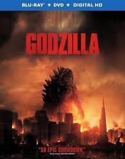 Godzilla (Blu-ray Disc ONLY, 2014)