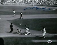 "Maury Wills Signed 8X10 Photo Autograph ""30"" Record Setting Steal Slide Auto COA"