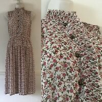 River Island Floral Sleeveless Dress Size 10