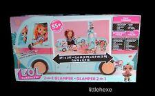 L.O.L. Surprise 2 in 1 Glamper , Camper für LOL Puppen mit 55 Überraschungen NEU