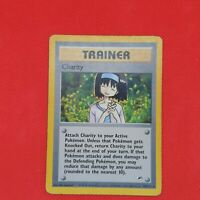 Charity 99/132 Rare Gym Heroes Non Holo WOTC Trainer Pokemon Card