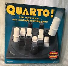 QUARTO Board Game 1997 Pressman Complete Previously Owned Plastic