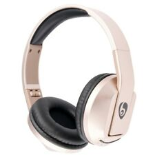 Bluetooth 4.1 Stereo Headset Foldable headset Support TF Card FM Radio - Gold