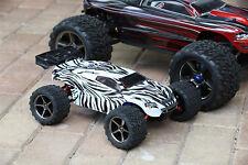 Custom Body Zebra Style for Traxxas 1/16 e-Revo Mini 7012 Shell 1:16 (Body Only)