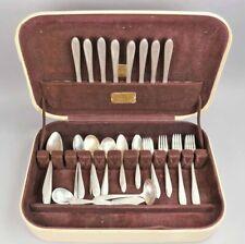 """1938 Sterling Silver """"Margaret Rose"""" Flatware Set, 1873 Grams!"""