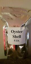 Oyster Shell Powder 5 lb Organic Fertilizer Calcium Magnesium For All Plants