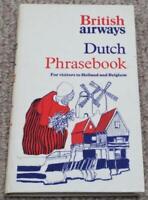 British Airways Vintage Dutch Phrasebook for Holland & Belgium
