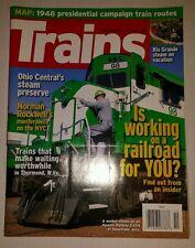 Trains Magazine October 2008