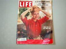 Vintage LIFE ~ April 22, 1957 ~ Carol Lynley, Zoo, Churchill, Icebergs, Dr Adams