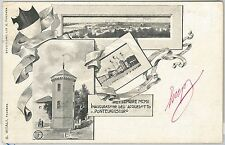 CARTOLINA d'Epoca -  FERRARA provincia -  PONTELAGOSCURO 1902 - bella!!
