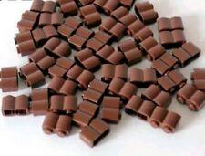20x Brown Lego palisade bricks 1 x 2 No 4519970 Bricks Parts. Harry Potter bulk