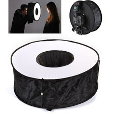 "18"" 45cm Easy-fold Macro Ring Speedlite Flash Light Softbox Diffuser Reflector"