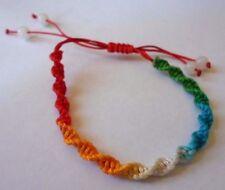Rasta/Reggae/One Love bracelet.1 size fits all.Unisex.Ropes to adjust.Au SellerA