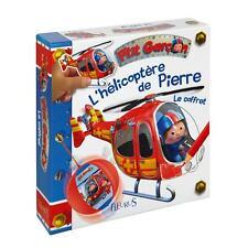 Coffret L'hélicoptère de Pierre : Livre Coloriage Poste Tap-ball ... Fleurus