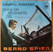 "7"" Single * BERND SPIER - Memphis Tennessee * EX/VG+ * CBS 1618 * cleaned"