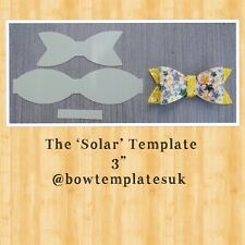 Hairbow template, bow template, hair bow supplies, plastic bow template
